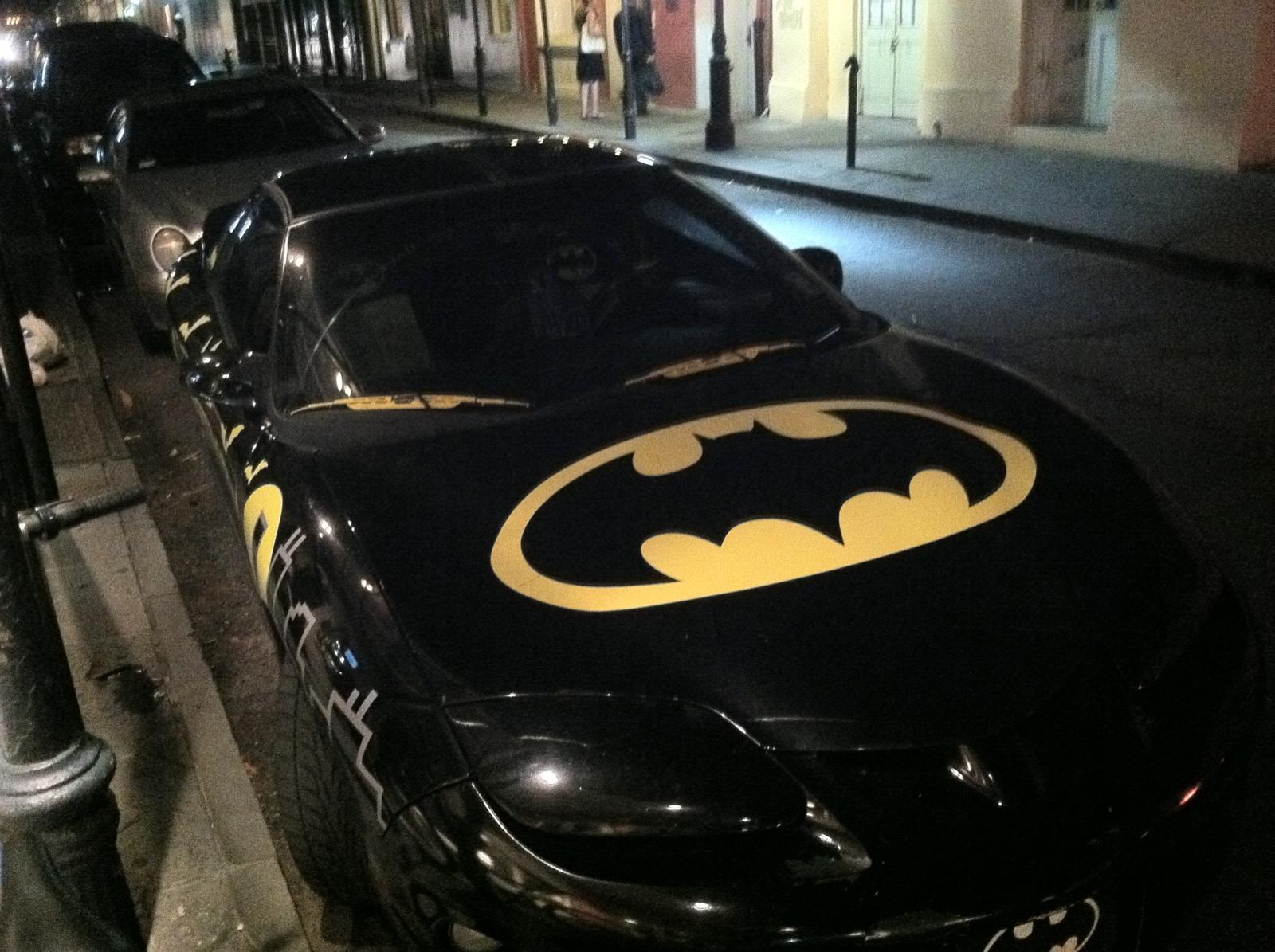 Batmans New Car